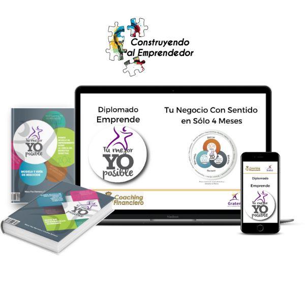 Imagem principal do produto Diplomado Emprende tu Mejor Yo Posible