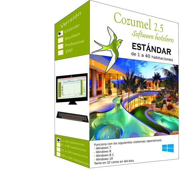 Imagem principal do produto Cozumel 2.5 Estándar: 1 a 40 habitaciones