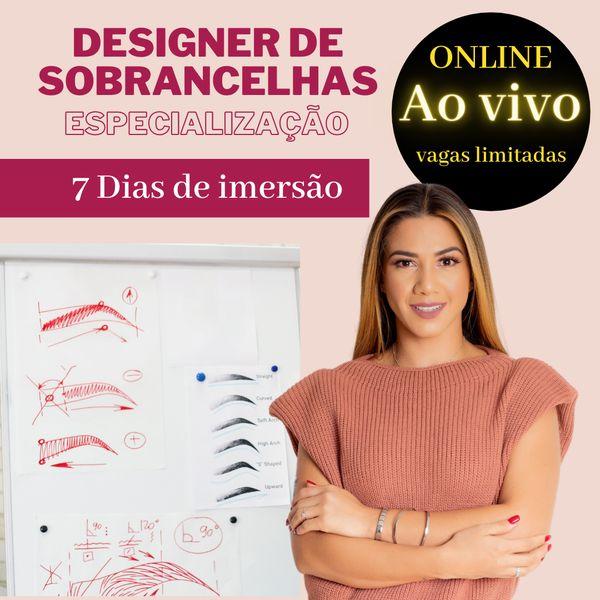 Imagem principal do produto ESPECIALIZAÇÃO DESIGNER DE SOBRANCELHAS
