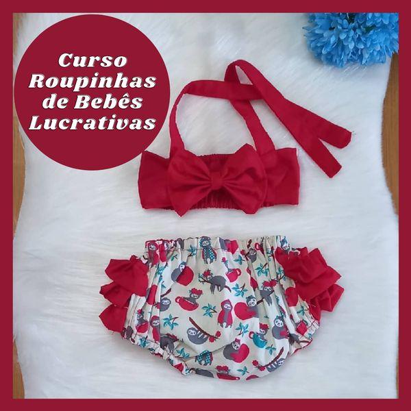 Imagem principal do produto Curso Roupinhas de Bebês Lucrativas