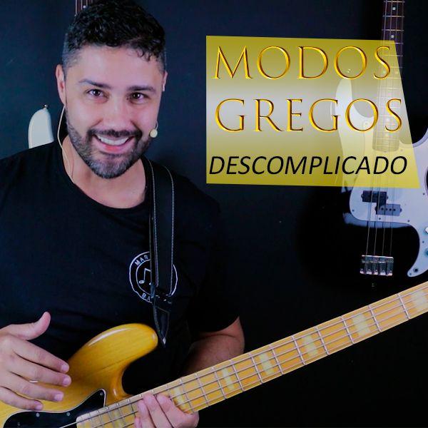 Imagem principal do produto CURSO DE BAIXO ELÉTRICO - MODOS GREGOS DESCOMPLICADO