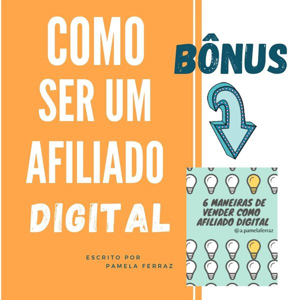 Imagem principal do produto Como ser um afiliado digital