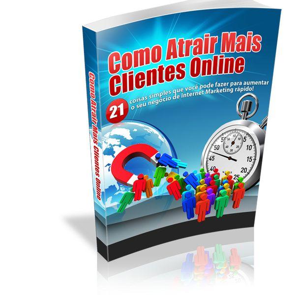 Imagem principal do produto Como Atrair Mais Clientes Online Lei Da Atração