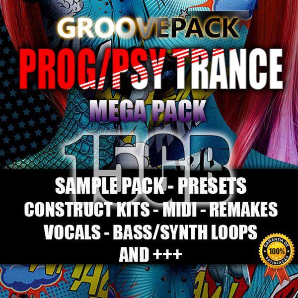 Imagem principal do produto Prog/ Psy Trance - Pack Preset Sample Midi Loops Kits 2020!