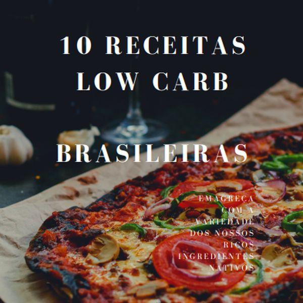 Imagem principal do produto 10 receitas low carb brasileiras