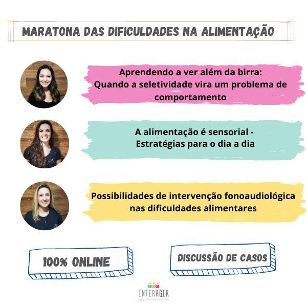 Imagem principal do produto Maratona das Dificuldades Alimentares