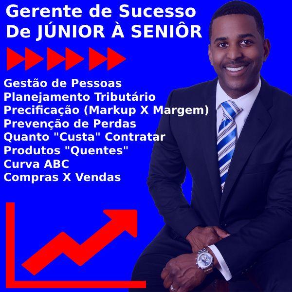 Imagem principal do produto Gerente de Sucesso (Supermercado) De JÚNIOR A SENIOR