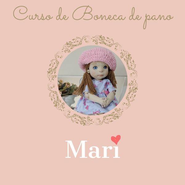 Imagem principal do produto Boneca de pano Mari