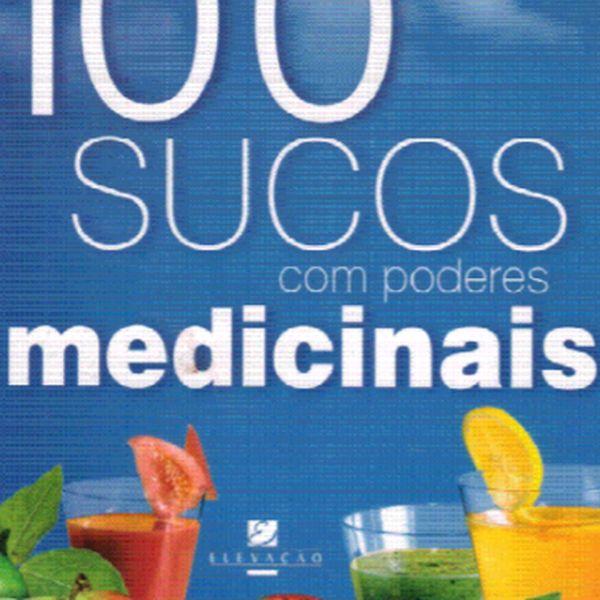 Imagem principal do produto 100 sucos com poderes medicinais.
