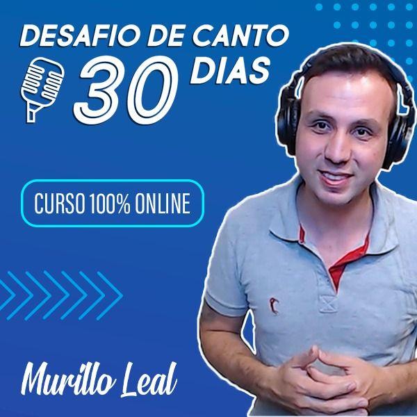 Imagem principal do produto Desafio de Canto - 30 dias