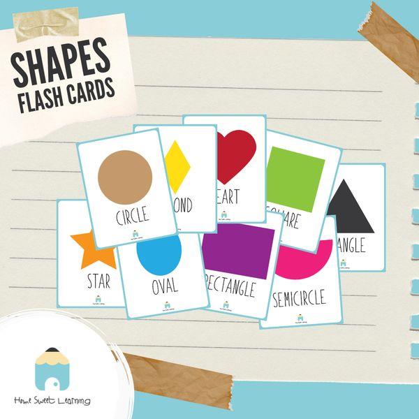 Imagem principal do produto Flashcards - Shapes