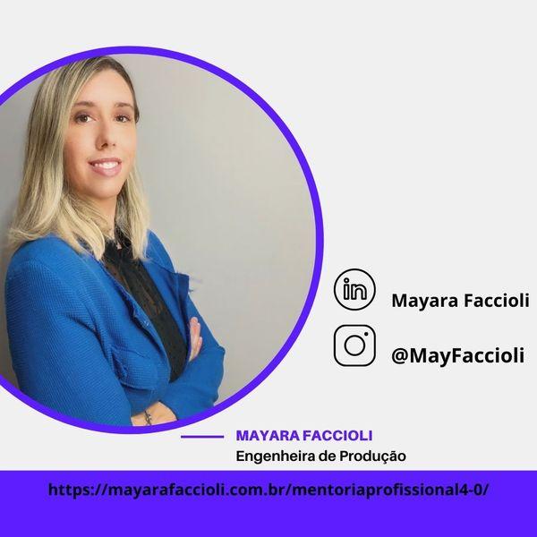 Imagem principal do produto Consultoria Profissional - Mayara Faccioli
