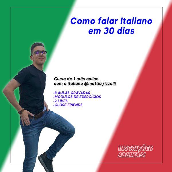 Imagem principal do produto Como falar Italiano em 30 dias