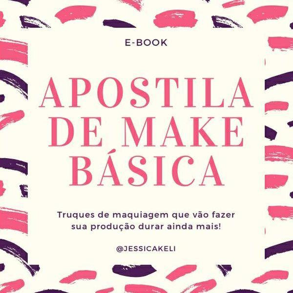 Imagem principal do produto Apostila de Make Básica