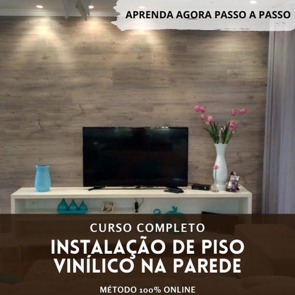 Imagem principal do produto Piso Vinílico na parede - Curso Completo Online