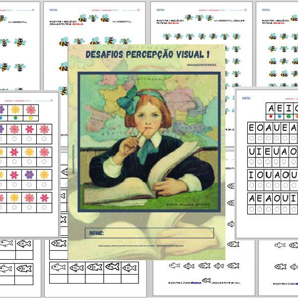 Imagem principal do produto Desafios: Percepção visual 1