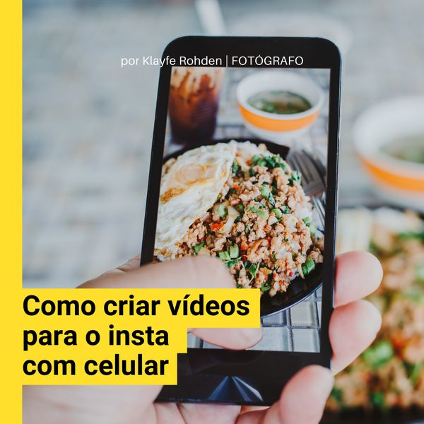 Imagem principal do produto Como criar vídeos para o Instagram com celular
