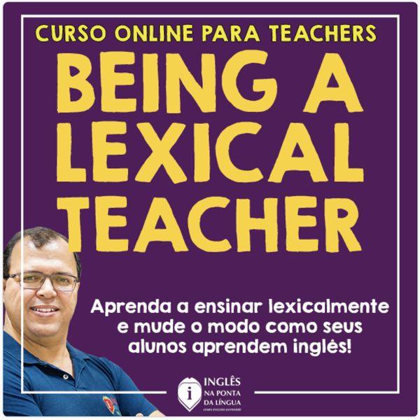 Imagem principal do produto BEING A LEXICAL TEACHER