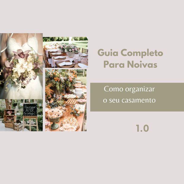 Imagem principal do produto Guia completo para noivas - Como organizar o seu casamento