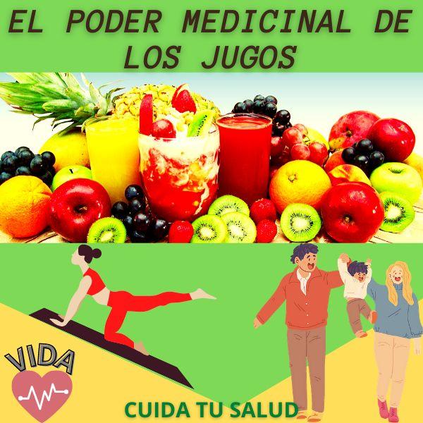 Imagem principal do produto El Poder Medicinal de los Jugos