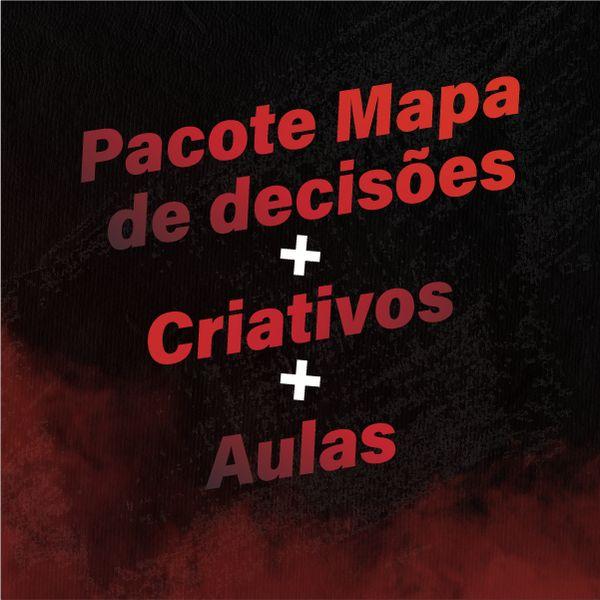Imagem principal do produto Pacote Mapa de decisões + Criativos + Aulas