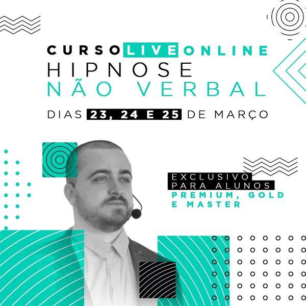 Imagem principal do produto Curso Ao Vivo de Hipnose Não-Verbal - Exclusivo alunos Escola de Hipnose