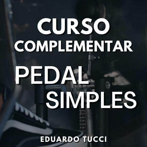 Imagem principal do produto Curso Complementar de Pedal Simples para Bateria