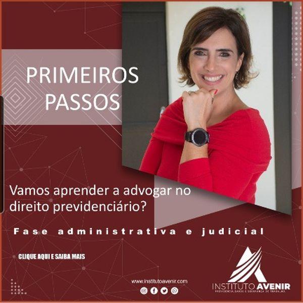 Imagem principal do produto Curso Primeiros Passos no Direito Previdenciário