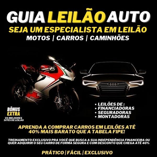 Imagem principal do produto GUIA LEILÃO AUTO