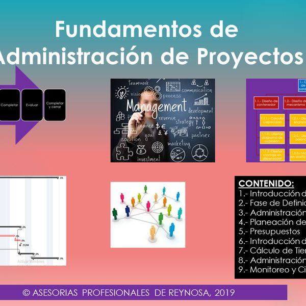 Imagem principal do produto FUNDAMENTOS DE ADMINISTRACIÓN DE PROYECTOS