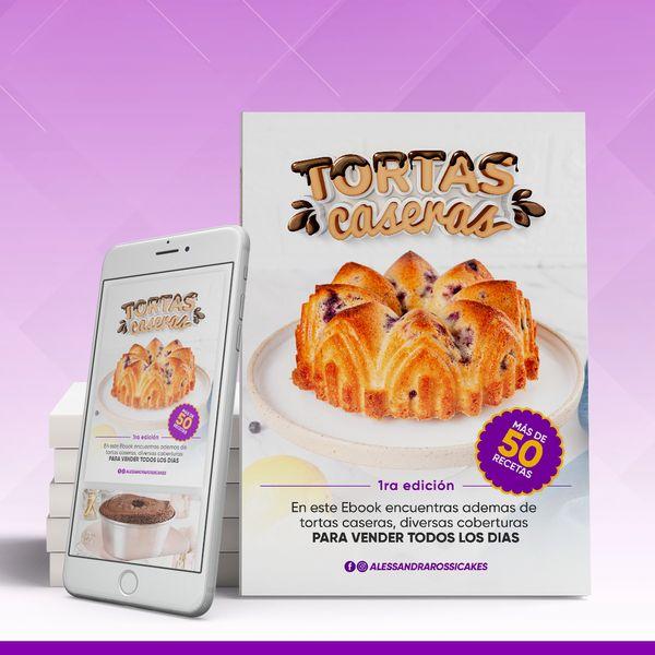 Imagem principal do produto EBOOK TORTAS CASERAS