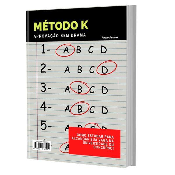 Imagem principal do produto Método K: aprovação sem drama