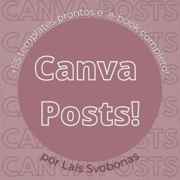 Imagem principal do produto Canva Posts