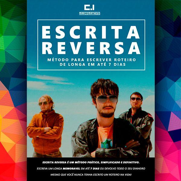 Imagem principal do produto ESCRITA REVERSA - COMO FAZER ROTEIRO DE LONGA EM 7 DIAS