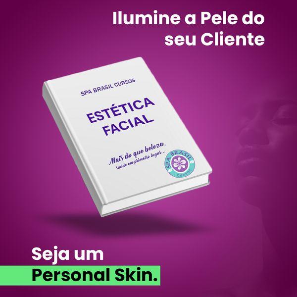 Imagem principal do produto EBOOK - ESTÉTICA FACIAL - Ilumine a Pele do seu Cliente!