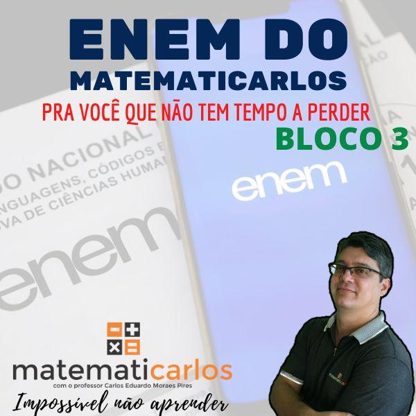 Imagem principal do produto Enem do Matematicarlos
