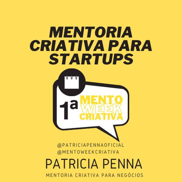 Imagem principal do produto Mentoria Criativa Para Startup