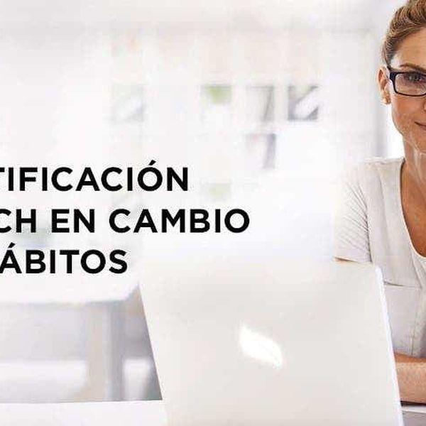 Imagem principal do produto Certificación Coach Cambio de Hábitos