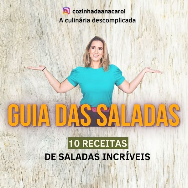 Imagem principal do produto GUIA DE SALADAS - Receitas de Saladas Incríveis