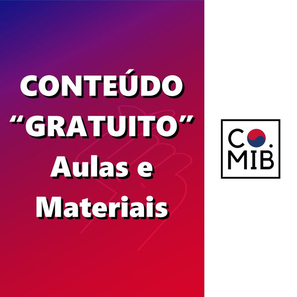 Imagem principal do produto Aulas e Materiais Gratuitos | CURSO DE COREANO | COREANOS MIB