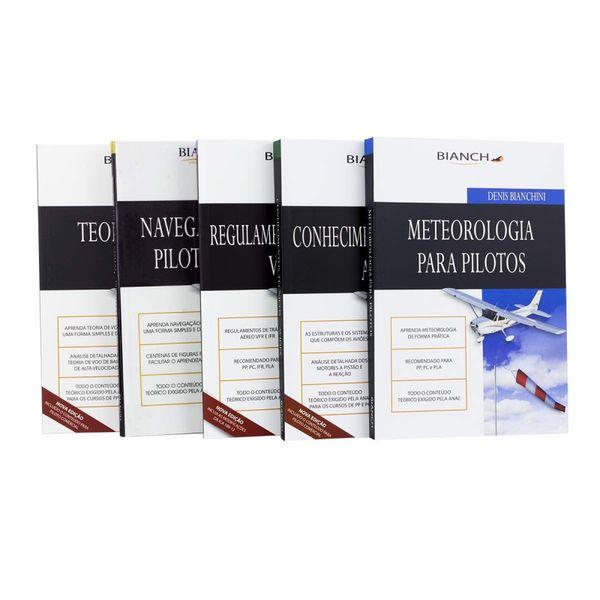 Imagem principal do produto Kit 5 Livros Piloto Privado (pfd) Ebooks