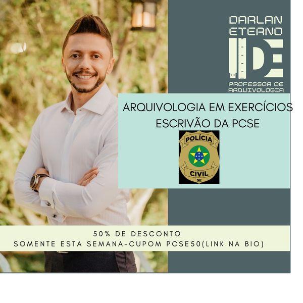 Imagem principal do produto Arquivologia para Escrivão da Polícia Civil de Sergipe - Em exercícios