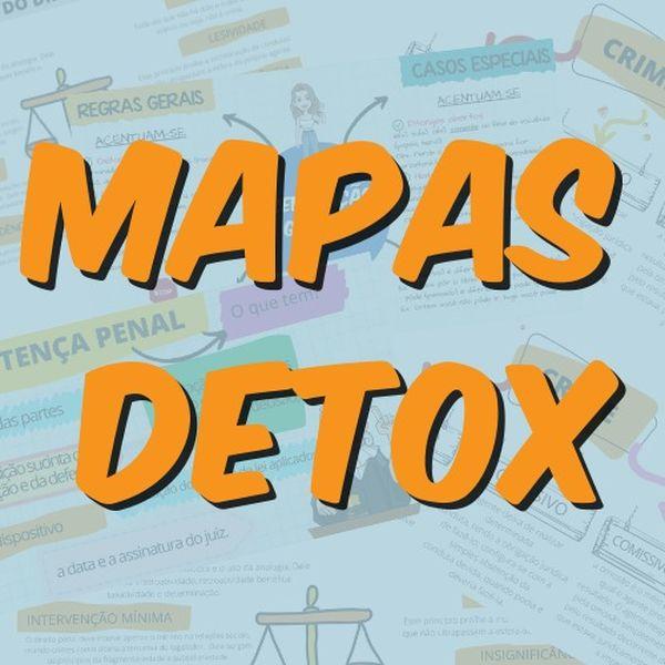 Imagem principal do produto Mapas Mentais Detox