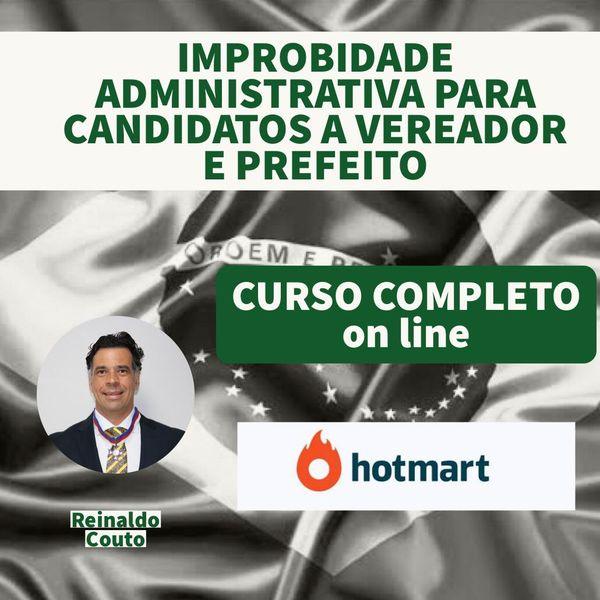 Imagem principal do produto CURSO SOBRE IMPROBIDADE ADMINISTRATIVA PARA CANDIDATOS