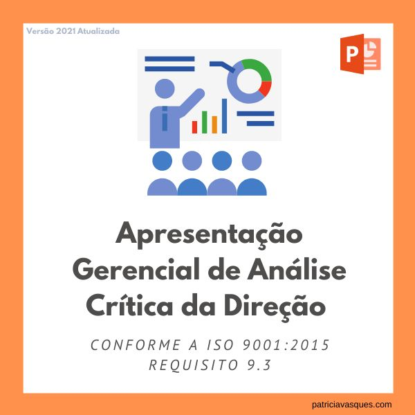 Imagem principal do produto Apresentação Gerencial de Análise Crítica da Alta Direção