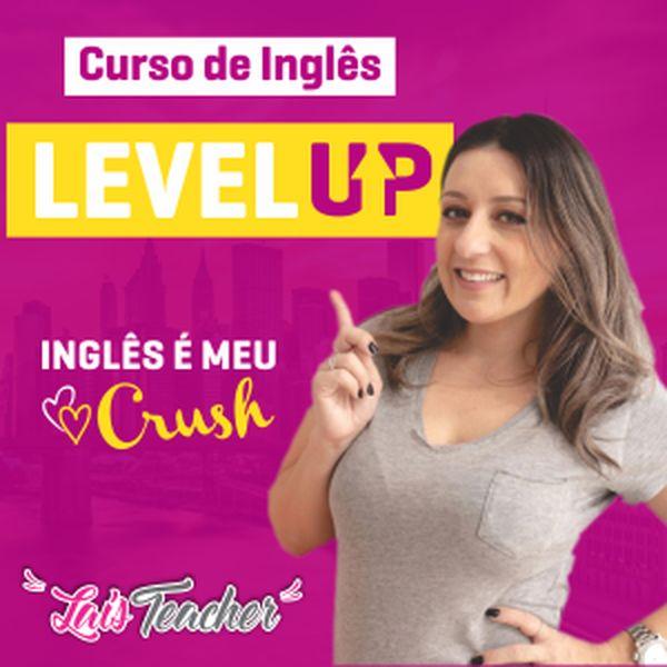 Imagem principal do produto CURSO LEVEL UP- ENGLISH