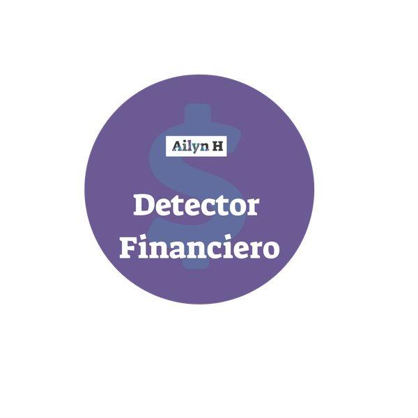 Imagem principal do produto Detector financiero