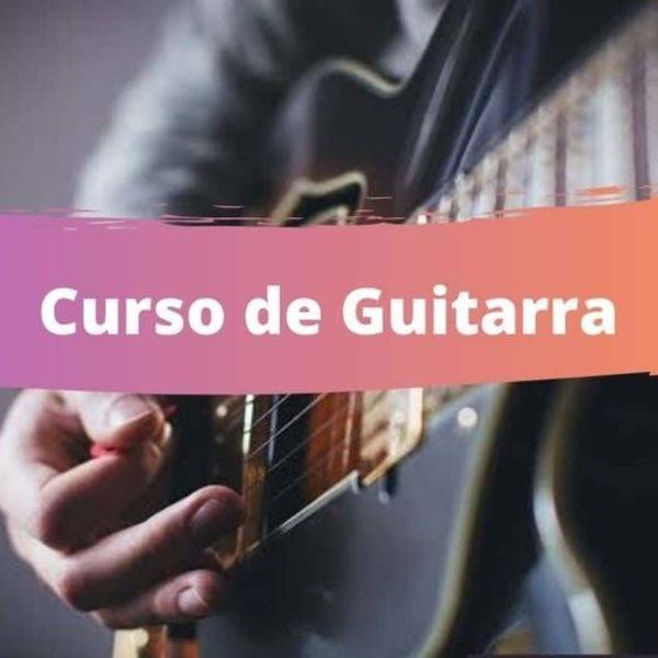 Imagem principal do produto Curso de guitarra - INICIANTES