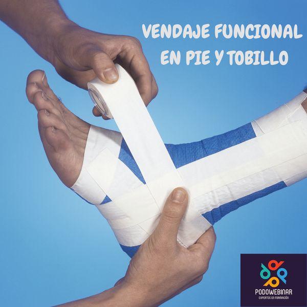 Imagem principal do produto CURSO VENDAJES EN PIE Y TOBILLO.