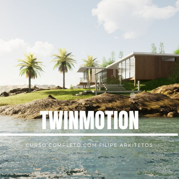 Imagem principal do produto Curso completo de Twinmotion